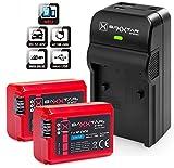 Baxxtar RAZER 600 II Ladegerät 5 in 1 + 2x Baxxtar PRO ENERGY Akku für...