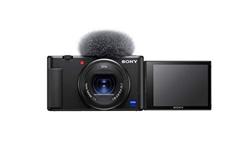 Sony Vlog-Kamera ZV-1 (Digitalkamera, 24-70mm, seitlich...