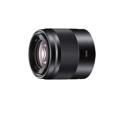Sony SEL-50F18 Porträt-Objektiv (Festbrennweite, 50 mm, F1.8,...