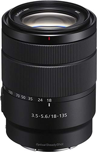 Sony SEL-18135 Zoom Objektiv 18-135mm F3.5-5.6 OSS (E-Mount APS-C...