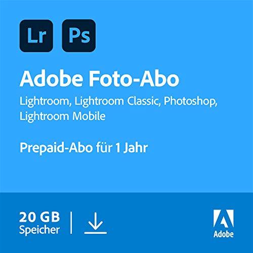 Adobe Creative Cloud Foto-Abo mit 20GB: Photoshop und Lightroom  ...