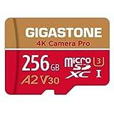 Gigastone 4K Kamera Pro 256GB MicroSDXC Speicherkarte und...