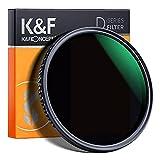 K&F Concept Variabler Graufilter 62mm Variable ND Filter ND8-2000...