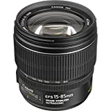 Canon Zoomobjektiv EF-S 15-85mm F3.5-5.6 IS USM für EOS (72mm...