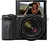 Sony Alpha 6600   APS-C Spiegellose Kamera mit Sony 18-135mm...