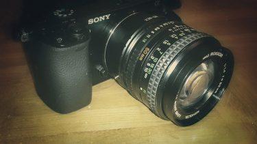Minolta Rokkor MD 50mm 1.4 an der Sony Alpha 6000 Systemkamera