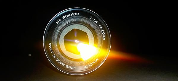 Minolta Rokkor 1.4 50mm