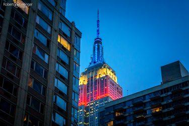 Architekturaufnahme vom Empire State Building