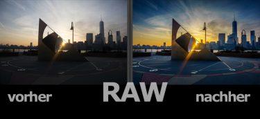 raw - tiefen/lichter optimierung