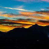 Einen farbenfrohen Sonnenuntergang fotografieren