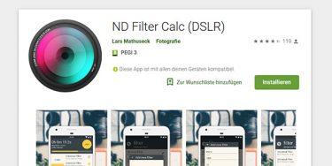 ND Filter App
