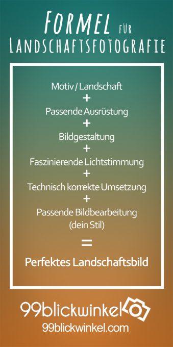 Formel für Landschaftsfotografie