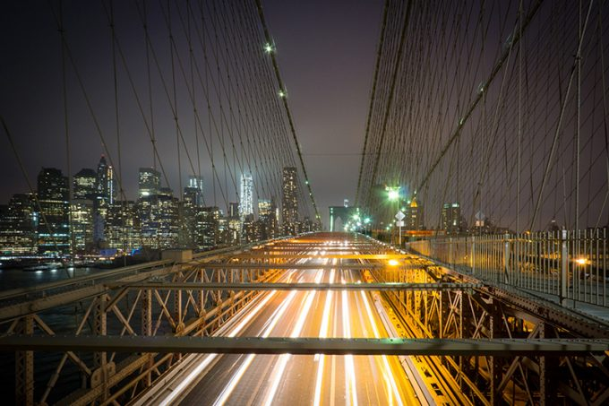 Brooklyn Bridge - Klemmstativ
