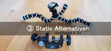 Gorillapod - stativ alternativen