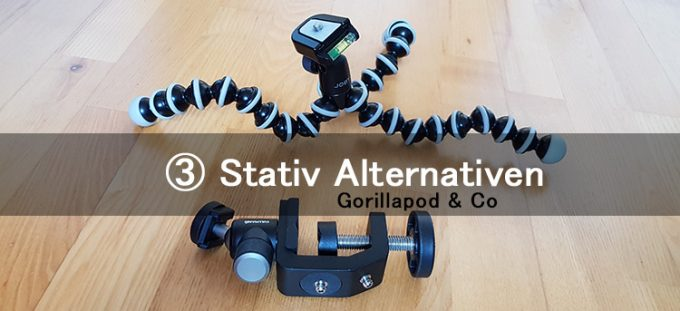 Gorillapod - stativ alternativen