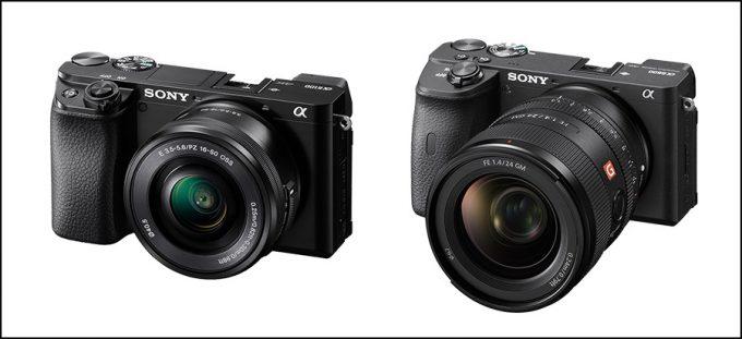 Sony Alpha 6100 und 6600