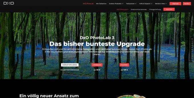 DxO PhotoLab ist eine gute Alternative zu Lightroom